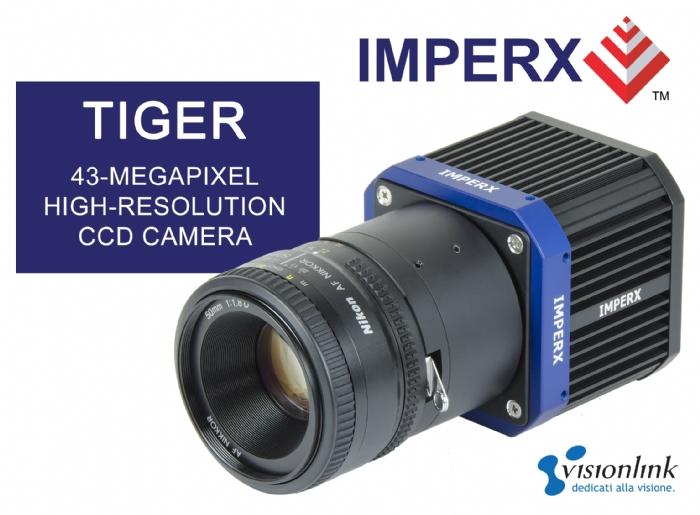 Telecamera CCD 43 Megapixel